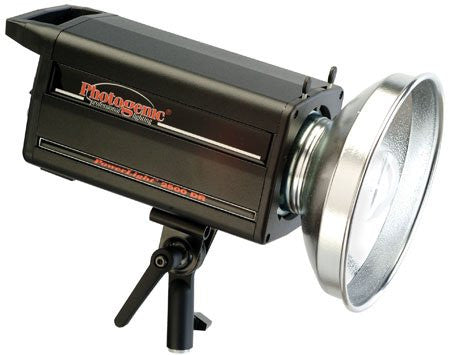 Photogenic PL2500DRC PowerLight Digital Remote Flash Unit, 1000ws, with UV Color Corrected Flash Tube