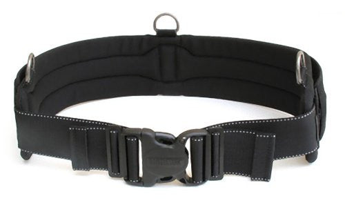 "Think Tank Steroid Speed Belt V2.0, Padded 3.5"" Wide Medium-Large Size Modulus Accessory Belt, Fits 32"" - 42"", 81 cm - 106 cm, Black"