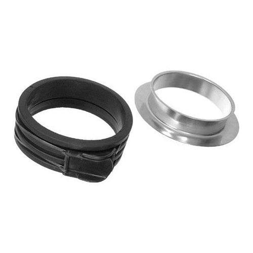 Bowens BW-1975/A Profoto Adaptor Ring Insert and Speedring (Black)
