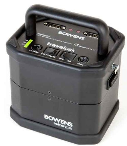 Bowens BW-7693 Small Travel Pack without Case (Black) - Lighting-Studio - Bowens - Helix Camera