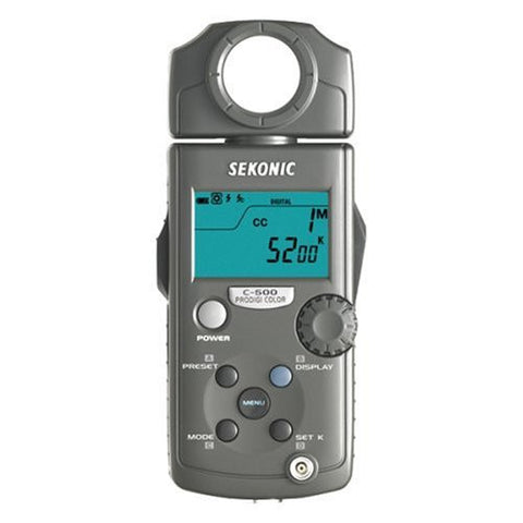 Sekonic PRODIGI C-500 Color Meter (Black) - Lighting-Studio - Sekonic - Helix Camera