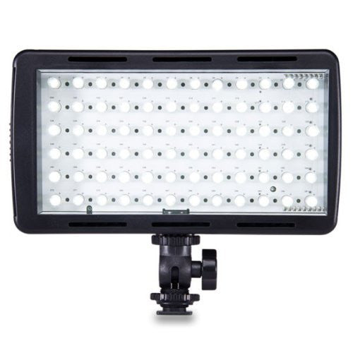 Limelite VB-1400 Mosaic Solo On-Camera Led Light with Shoe Mount Diffusion (Black)