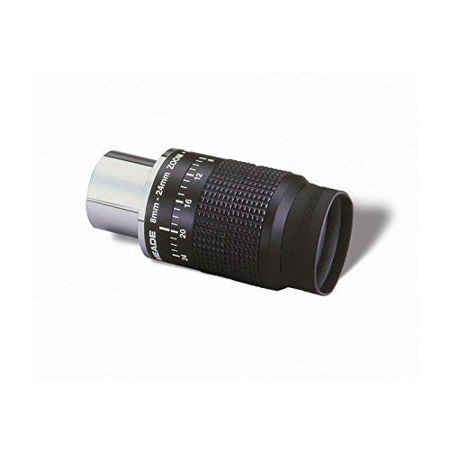 Meade 07199-2 Series 4000 8 to 24-Millimeter 1.25-Inch Zoom Eyepiece (Black) - Telescopes - Meade - Helix Camera