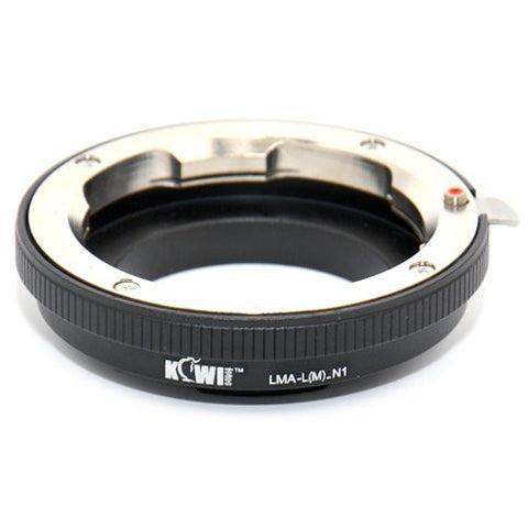 Kiwifotos Mount Adapter - Leica M to Nikon 1 - Photo-Video - Kiwifotos - Helix Camera