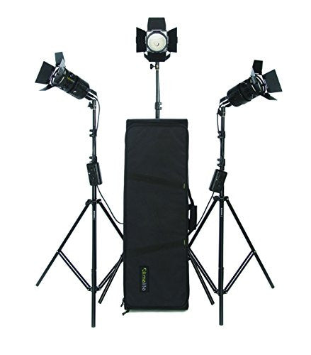 Limelite VB-1251US Pixel 300 3-Head Light Kit (Black) - Lighting-Studio - Limelite - Helix Camera