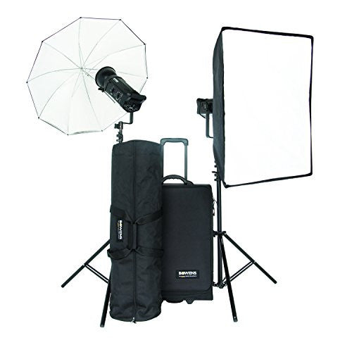 Bowens BW-8610USP Gemini 500Pro (x2) Kit - PocketWizard and Pulsar Compatible (Black)