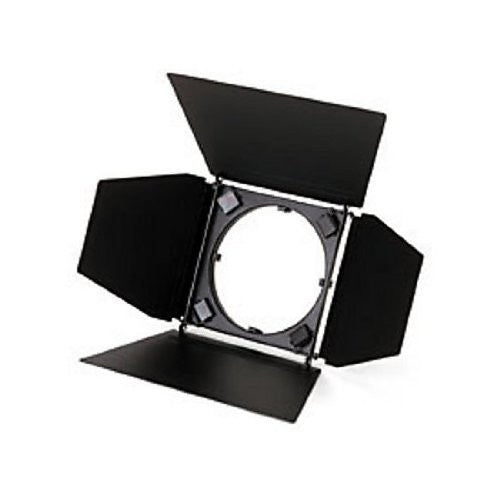 Bowens BW-2363 4-Way Barndoor /Gel Filter Holder for BW-1887 Maxilite (Black) - Lighting-Studio - Bowens - Helix Camera
