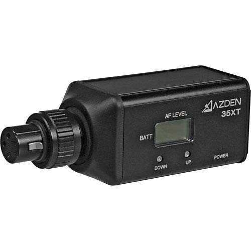 Azend Group Corp  Wireless UHF XLR Plug-in Transmitter (35XT) -  - Azden - Helix Camera