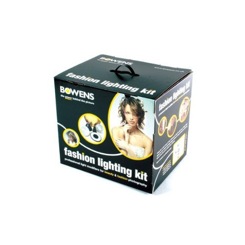 Bowens BW-6660 Fashion Lighting Reflector Kit (Black)