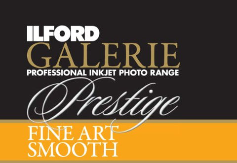 Ilford 2002397 17 X 50 Inches GALERIE Prestige Fine Art Smooth Roll (Black) - Print-Scan-Present - Ilford - Helix Camera
