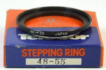 Camera Lens Step Up Filter Adapter Ring 48mm - 55mm made in Japan