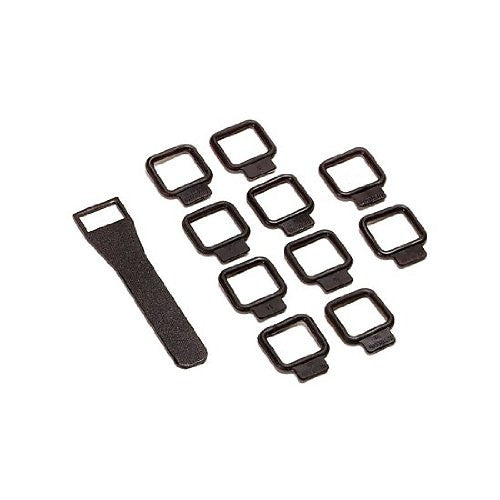 Bowens BW-2625 Cable Fixing Kit Large Band (Set Of 10) (Black)