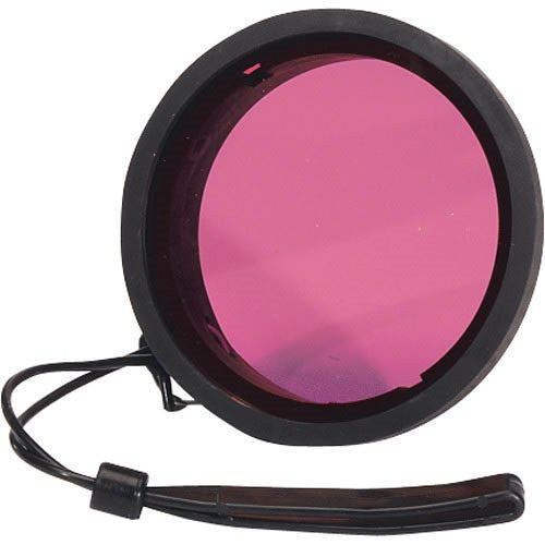 "Ikelite Green Water Color Correction Filter for 2.2"" Diameter Port - Short Version - UNDERWATER - Ikelite - Helix Camera"