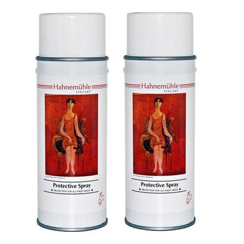 Hahnemuhle Protective Spray for Fine Art Digital Prints, Pack of Two 14 oz. Cans - Print-Scan-Present - Hahnemuhle - Helix Camera