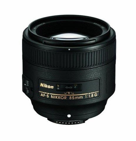 Nikon AF-S NIKKOR 85mm f/1.8G - Photo-Video - Nikon - Helix Camera