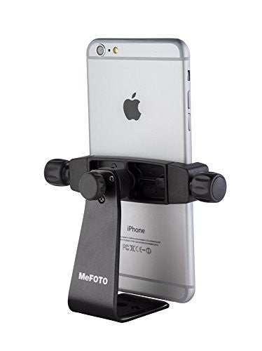 MeFOTO MPH200K SideKick 360 Plus Smartphone Adapter Black (BLACK) - Mobile - MeFoto - Helix Camera