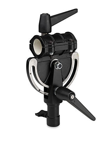 Kupo KG601812 Pivoting Boom Arm Clamp (Black) - Lighting-Studio - Kupo - Helix Camera