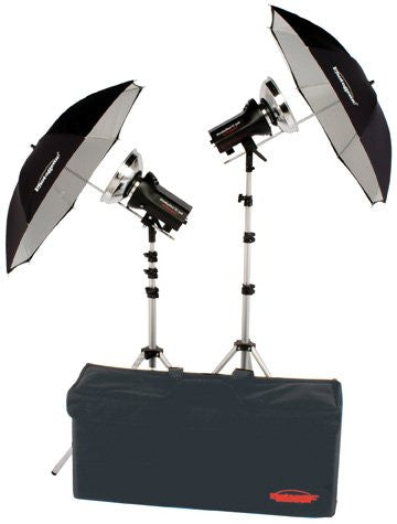 Studiomax III 2-Head Portrait Studio Monolight Kit - Lighting-Studio - Photogenic - Helix Camera