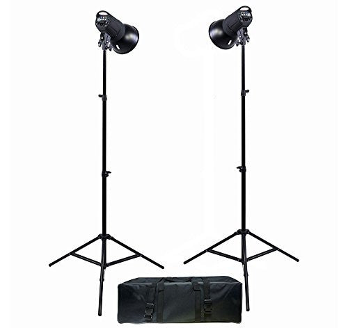 Promaster SM300 DIgital Display 2-Light Studio Kit