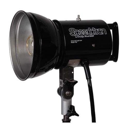 "Speedotron 102 Black Line-2400 Watt/Second Lamphead w/7"" Reflector and UV 850315-Speedotron"