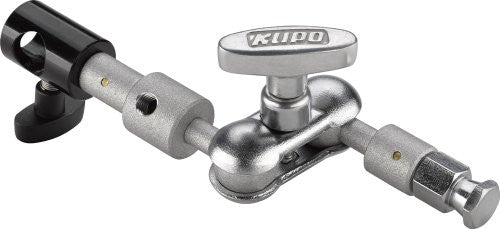 Kupo Swivel Extension Arm, Hex Stud to 5/8-Inch (16mm) Receiver, KG001712 - Lighting-Studio - Kupo - Helix Camera
