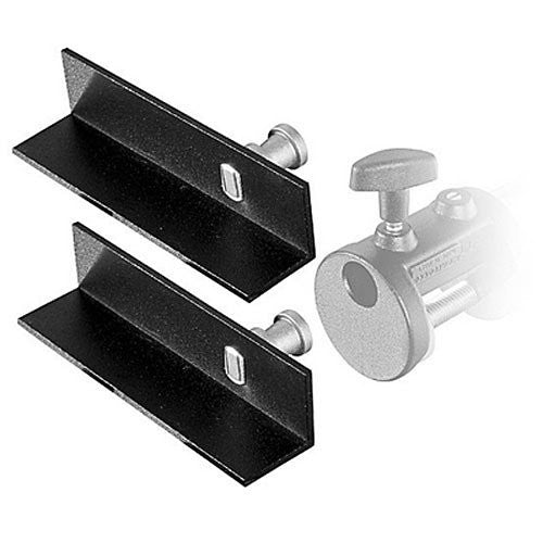 Manfrotto 204 Mini L-Brackets for Mini Clamp - Replaces 2948 (Set of 2) - Lighting-Studio - Manfrotto - Helix Camera