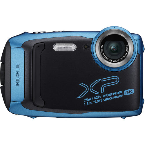 Fujifilm FinePix XP140 Waterproof Camera - Sky Blue
