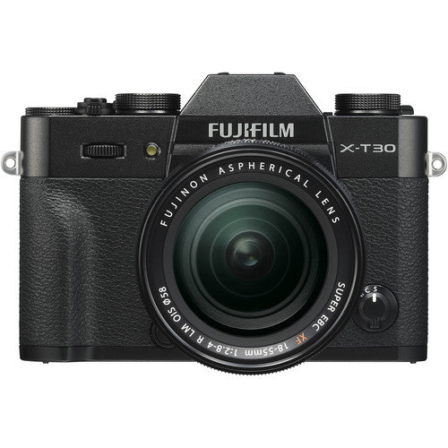 Fujifilm X-T30 Mirrorless Camera with 18-55mm - Black
