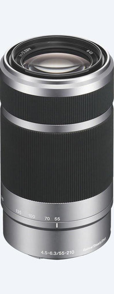 Used Sony E 55–210mm F4.5-6.3 OSS Lens - Silver