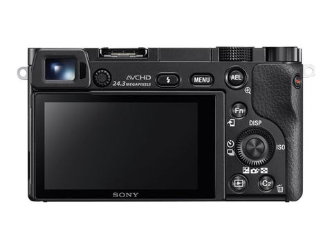 Used Sony a6000 Mirrorless Camera Body Only - Black