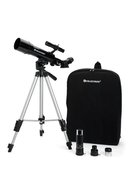 Celestron Travel Scope 50 Portable Telescope with Backpack - Telescopes - Celestron - Helix Camera