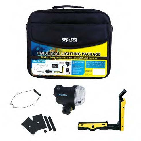 Sea & Sea YS-02 Universal Lighting Package with Soft Bag -  - Sea & Sea - Helix Camera
