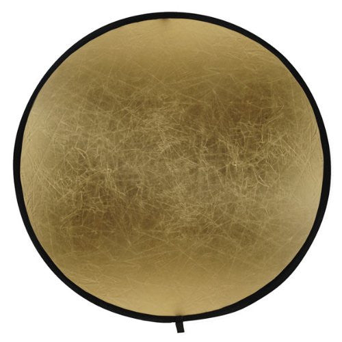 Bowens BW-3245 42-Inch (107cm) Reflector Disc Gold/Silver (Black) - Lighting-Studio - Bowens - Helix Camera
