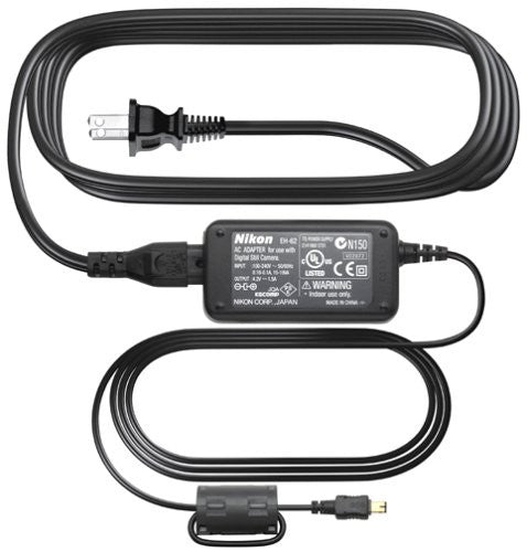 Nikon EH-62B AC Adapter for Coolpix L1/S4/2200/3200/4100/4600/5600/7600 Digital Cameras - Photo-Video - Nikon - Helix Camera