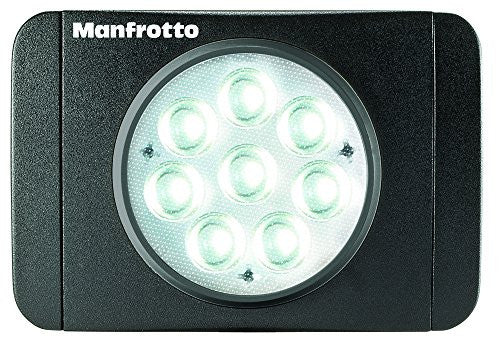 Manfrotto MLUMIEMU-BK Lumie Series Muse LED Light (Black) - Lighting-Studio - Manfrotto - Helix Camera