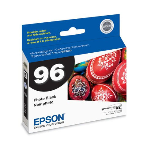 Epson UltraChrome K3 Inkjet Cartridge (Photo Black) (T096120) - Print-Scan-Present - Epson - Helix Camera