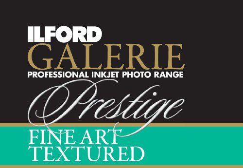 Ilford 2002405 17 X 50 Inches GALERIE Prestige Fine Art Textured Roll (Black) - Print-Scan-Present - Ilford - Helix Camera