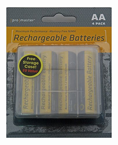 Promaster XtraPower PRO NiMH Batteries - AA 4-Pack - Photo-Video - ProMaster - Helix Camera