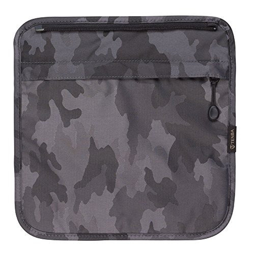 Tenba 633-311 Switch 7 Interchangeable Flap Black/Gray Camouflage (Black/Gray Camouflage) - Photo-Video - Tenba - Helix Camera
