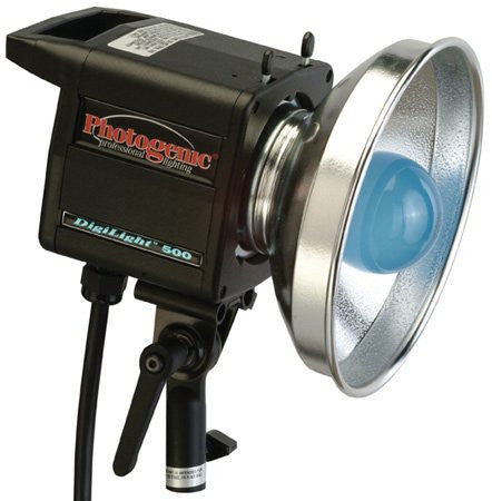 Photogenic DigiLight Continuous 500 watt Photoflood Light with Quick Change Release Mechanism for Accessories. (CL500)