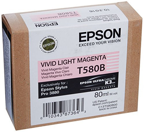 Epson Magenta Ink Cartridge (T580300) - Print-Scan-Present - Epson - Helix Camera