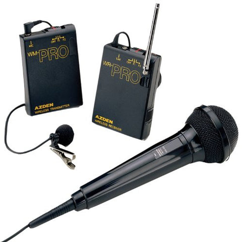 Azden WMS-PRO Wireless Microphone System - Audio - Azden - Helix Camera