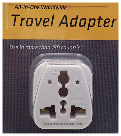 ProMaster All-In-One Worldwide AC Travel Adapter - Photo-Video - ProMaster - Helix Camera