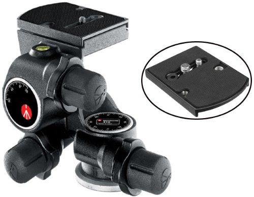 Manfrotto 410 Junior Geared Head - Photo-Video - Manfrotto - Helix Camera