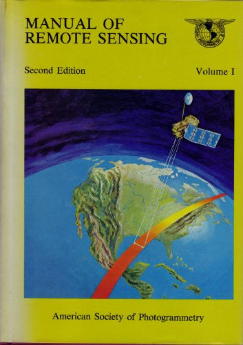 Manual of remote sensing - Books - Helix Camera & Video - Helix Camera