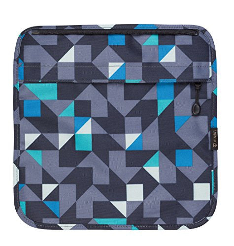 Tenba 633-324 Switch 8 Interchangeable Flap Blue/Gray Geometric (Blue/Gray Geometric)