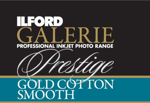 Ilford 2002381 17 X 50-1 Inches GALERIE Prestige Gold Cotton Smooth Roll (Black)