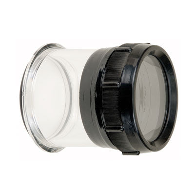 Ikelite FL Flat Port For Lenses Up To 5.1 Inches - Underwater - Ikelite - Helix Camera