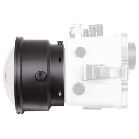 Ikelite DLM 6 inch Dome Port with Zoom Extended 1.0 Inch - Underwater - Ikelite - Helix Camera