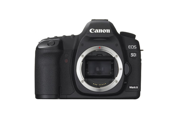 Used Canon EOS 5D Mark II DSLR with BG-E6 Battery Grip